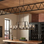 Angelo Island Chandelier by Feiss