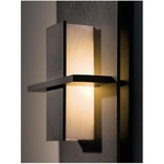 Aperture Vertical Wall Light - Dark Smoke / White Art