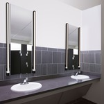 Tie Stix Vertical Fixed Vanity Wall Light -