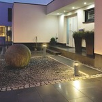 Arrock Rounf Bollard by SLV Lighting