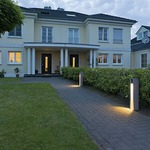 Arrock Slot Bollard by SLV Lighting