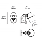 Tolomeo Classic Wall Spot without Switch -  /