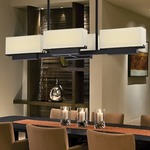 Aspen Linear Pendant Dining Room
