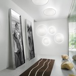 Aurora Crystal Wall Light / Ceiling Flush Light by Vistosi