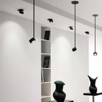 Favilla LED Directional Pendant 24 Degree - Black /