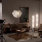 Bach Floor Lamp by Slamp