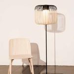 Bamboo Floor Lamp -