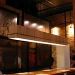 Bamboo Linear Pendant by Ridgely Studio Works