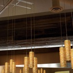EZ Jack Coil Long Banded Xenon Pendant by Stone Lighting
