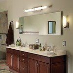 Metro Long Bath Bar by Tech Lighting