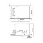 R3-G19ICA 3 IN GU10 MR16 IC New Construction Housing -  /