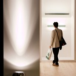 Beluga Alu Floor Spot Light by Fabbian