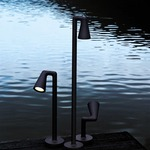 Belvedere Single Spot Beam Outdoor Light  -