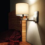 Berilio Reading Swing Arm Wall Sconce by Blauet