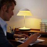 Hue Beyond Table Lamp Starter Kit with Bridge by Philips Hue