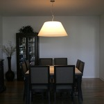Big Shade Modern Suspension by Lightology Collection