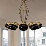Black Widow Suspension by Lightology Collection