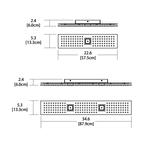 Grid Panel Bath Bar -  /