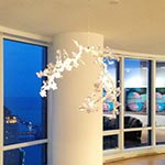 Blossom LED Suspension by Swarovski