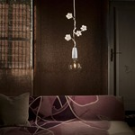 Fiorella Blossoms Pendant by Lightology Collection