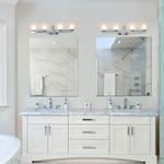 Bonaventure Bath Bar by DVI Lighting