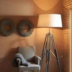 Boudin Tripod Adjustable Floor Lamp by Light & Living
