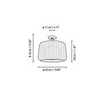 Fora Outdoor Ceiling Light Fixture -  /