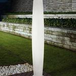 Maxi P Outdoor Floor Lamp - White / White