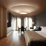 Siam 03 Semi-Flush Ceiling Lamp by Bover