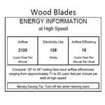 Bianca Directional Wood Ceiling Fan -  /