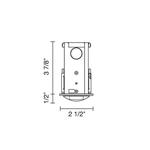 Ledra Quattro LED Recessed Wall with J Box -  /