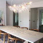 Bubble Long Chandelier by Pelle Designs