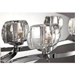 Buca Bathroom Vanity Light - Chrome / Clear
