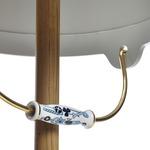 Bucket Floor Lamp - Natural Oak / Grey