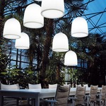 Campanone Outdoor LED Pendant by Modoluce