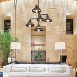 Canary Wharf Outdoor Multi Pendant by Troy Lighting