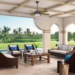 Caneel Bay Outdoor Ceiling Fan with Light by Casablanca Fan