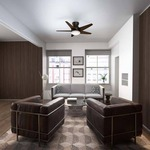 Isotope Ceiling Fan with Light by Casablanca Fan