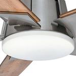 Zudio 5-Blade LED Ceiling Fan - Brushed Nickel /