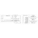 Zudio 5-Blade LED Ceiling Fan -  /
