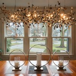 Argent Linear Chandelier -