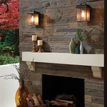 Chappman Outdoor Wall Light by Feiss