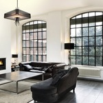 Ironwood Square Chandelier by Hammerton Studio