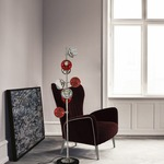 Cherries II Floor Lamp by CreativeMary