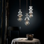 Chess Queen Pendant by Lightology Collection
