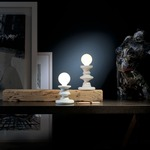 Chess Re Table Lamp by Lightology Collection