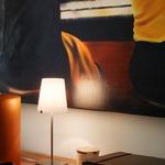 Chiara Table Lamp - Brushed Nickel / White