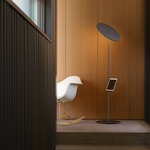Circa Floor Lamp with Pedestal by Pablo