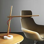 Clamp FS Table Lamp by Pablo