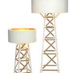 Construction Floor Lamp - Matte White /